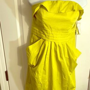 Jessica Simpson NWT, strapless dress size 12,